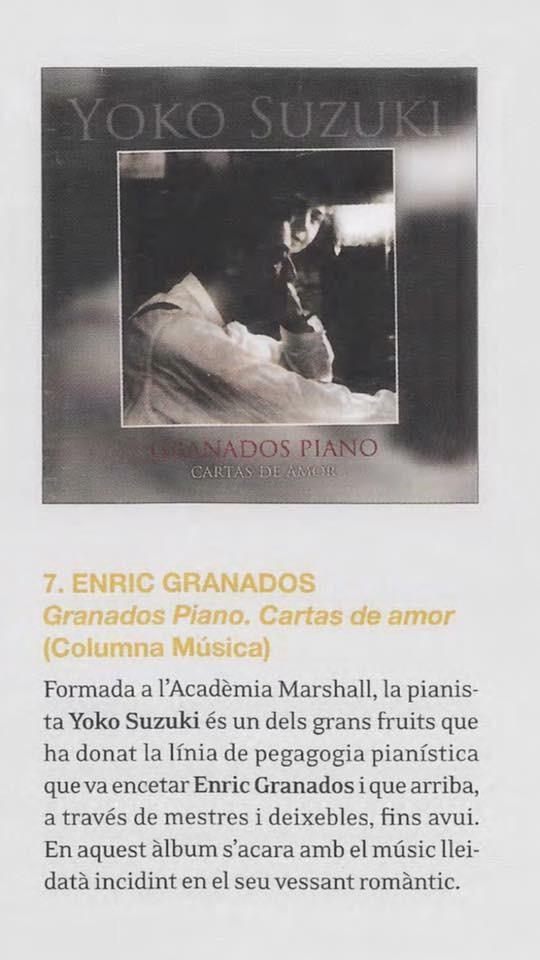 yoko_.CD Granados piano Premio Enderrock 2017